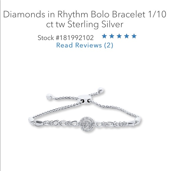 b1fa1b226 Kay Jewelers Jewelry | Kay Diamonds In Rhythm Bolo Bracelet | Poshmark